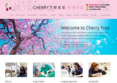 Cherrytree Vets Website
