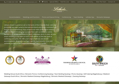 Lethabo Estate Website Lanseria in South Africa