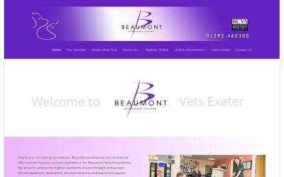 Beaumont Vets Website