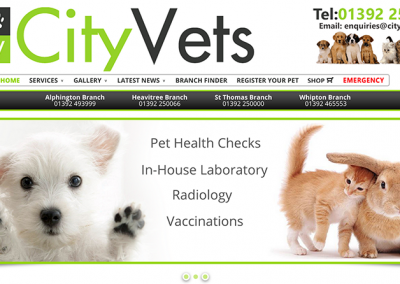 City Vets Website