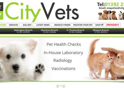 City Vets Website