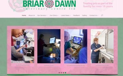 Briar Dawn Vets Website
