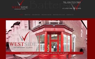 Westside Veterinary Clinic Website