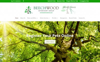 Beechwood Veterinary Group website now live