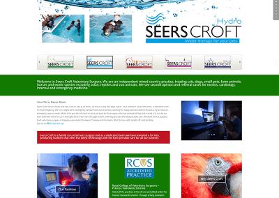 SeersCroft Veterinary Surgery Website