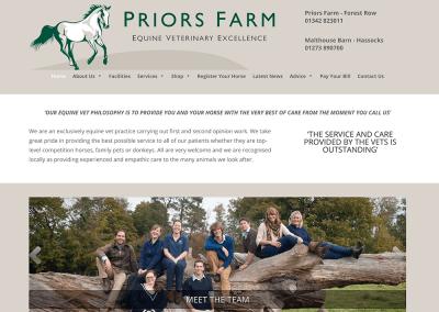 Priors Farm Equine Vets