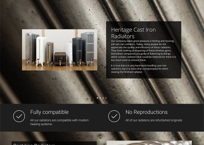 Heritage Cast Iron Radiators